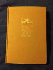 THE PATRIOT Pearl S.Buck 1st Edition 1939 John Day Co. HC