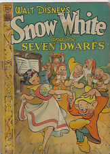 Dell FC #49: SNOW WHITE AND THE SEVEN DWARFS (Walt Kelly) 1150. - $(DISNEY) 1944