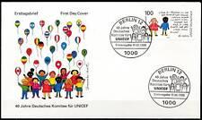 BRD 1993: UNICEF! FDC der Nr. 1682 mit sauberen Berliner Sonderstempeln! 1A 1711