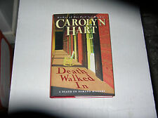 Death Walked In by Carolyn Hart (2008) SIGNED 1st/1st