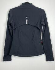 lululemon sergeant Jacket full zip Rare 2008 Black size 6
