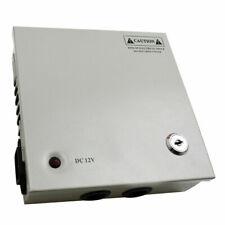 5A 4CH CCTV Distribution Security Box Case Unit 12V Camera Power Supply UK