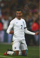 DELE ALLI - Hand Signed 12x8 Photo - Tottenham Hotspur Spurs England - Football