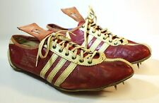 Vintage 1950s Adidas all leather track spikes - West Germany - North Hollywood
