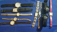 LOT OF 40 USED WRISTWATCHES