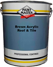 Paintmaster Heavy Duty Acrylic Roof And Tile Paint - Brown - 20 litres