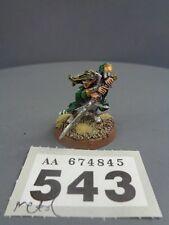 Warhammer elfos de metal de alta edad de Sigmar fuera de imprenta Eltharion el Ciego 543