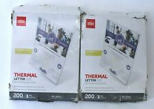 New Listingoffice Depot Thermal Letter Size Laminating Pouches 3 Mil 400 Count 9 X 115