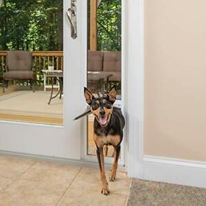 PetSafe Freedom Aluminum Patio Panel Sliding Glass Dog Cat Pet Door Adjustable