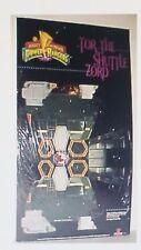 MIGHTY MORPHIN POWER RANGERS TOR SHUTTLE ZORD PAPER ART MMPR  1994 SABAN