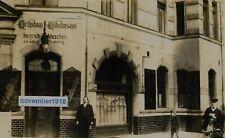 Postkarte Foto 1912 Berlin Wilmersdorf Restaurant Kneipe Gaststätte Wilhelmsaue