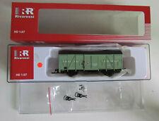 Spur H0 Rivarossi HR 6281 Gedeckter Güterwagen Garne aus Leinefelde Ep. IV (113)