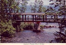 Continental-size LUTSEN RESORT Poplar River Bridge at Lake Superior LUTSEN, MN.