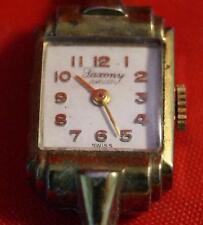 Vintage Saxony Swiss Jewel Ladies Watch