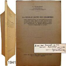 Rouille jaune des graminées 1941 Viennot-Bourgin agronomie puccinia mycologie