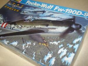 ** REVELL ** 1:32 SCALE ** FOCKE-WULF FW190 D-9 ** PLASTIC MODEL AIRPLANE KIT **