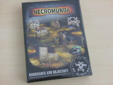 Warhammer Necromunda: Barricades and Objectives * Neu* Gelände