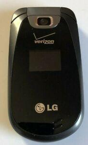 LG VN 150 PP FLIP PHONE VERIZON FOR PARTS BLACK