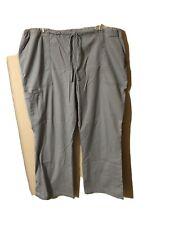 Cherokee Workwear Gray Scrub Pants sz Xl Style 4044