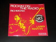 45  tours SP -  LARRY MARTIN - ROCKIN'ON THE RADIO - 1975