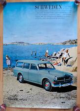 original Volvo Plakat Poster Affiche