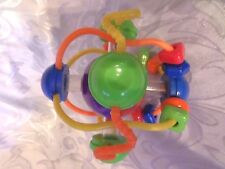 "Infantino Puzzle Ball Fine Motor Skills Toddler Rattle 7""  Learning Toy"