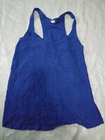 J Crew Tank Top Shirt Size XS Blue