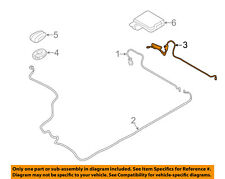 Lincoln FORD OEM 10-12 MKZ Radio Antenna-Cable AE5Z10E928B