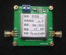 1-3000MHz 2.4GHz 20dB Low Noise LNA RF Amplifier Module HF VHF / UHF Verstärker