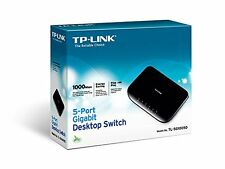 TP-LINK TL-SG1005D V6 5-Port Gigabit Ethernet 10/100/1000 Mbps Desktop Switch