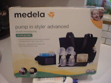 nice in box MEDELA PUMP IN STYLE ADVANCED DOUBLE BREASTPUMP w/on-the-go TOTE