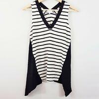 [ WITCHERY ] Womens Striped Top | Size XXS or AU 6