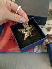 Swarovski Christmas Ornaments Star, Cry Gs