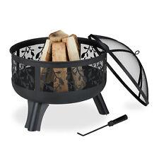 Feuerschale mit Funkenschutz Feuerkorb Brennschale Feuerwanne Feuerschüssel