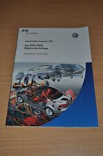 Selbststudienprogramm SSP 379 VW Der EOS 2006 Elektrische Anlage Volkswagen