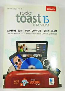 Roxio Toast 15 Titanium  Great Price !Free Shipping!
