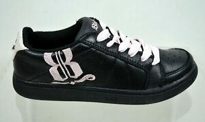 Bloch Klassik Dance Trainers Shoes S0515m Black & Pink UK Size 3.5