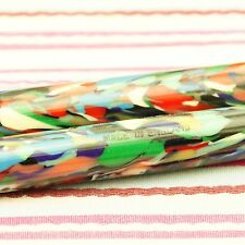 VINTAGE CONWAY STEWART DINKIE 540J HARLEQUIN MULTI-COLOR FOUNTAIN PEN RARE MINTY