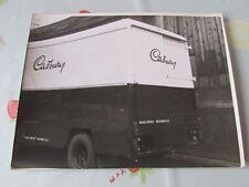 Original CADBURY Chocolate Maker Van Promotional Photo Estimate circa 1950's #3