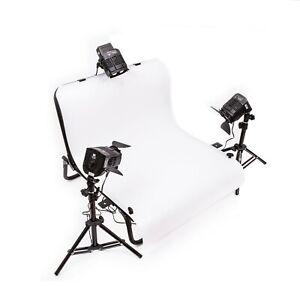 NanGuang Small Tabletop Product Photography Shoot Kit with Lights - NGRM1017/3K