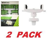 Vivitar Smartphone Car Cradle Vent Mount secure fit with 360° Swivel (2 PACK)