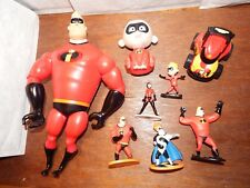 The Incredibles Disney figure toy playset Jack Dash talking Bob Parr bundle set