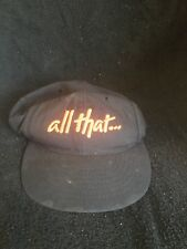 "Vintage ""all That"" 40 Acres And A Mule Snapback Rare Kids Hat Spike Lee Joint"