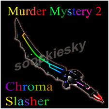 Roblox MM2 Chroma Slasher Godly Murder Mystery 2 Schusswaffe Knife Messer Gun