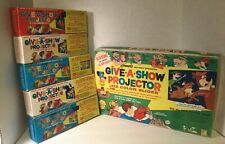 #506 Vintage Kenner's Give A Show Projector W/16 shows of 112 color slides