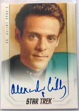 Alexander Siddig Autograph as Dr. Julian Bashir, Star Trek Inflexions