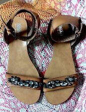 NWOT Mossimo Belinda Sandal with Ankle Strap- Size 8.5