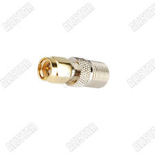 F-Type Female Jack To SMA Male Plug Coaxial Connector Adapter