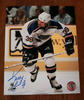 St. Louis Blues Kelly Chase Signed Autographed 8x10 Photograph Photo Auto NHL