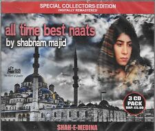 SHABNAM MAJID - ALL TIME BEST NAATS -3CDs COLLECTORS SET